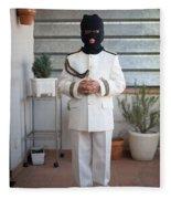 Masked First Communion Fleece Blanket