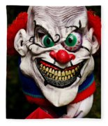 Masks Fright Night 1 Fleece Blanket