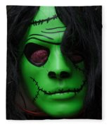 Masks Fright Night 4 Fleece Blanket