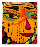 Masks We Wear - Face Fleece Blanket