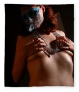 Masquerade Fleece Blanket