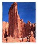 Massive Fisher Tower Fleece Blanket