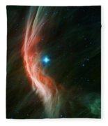 Massive Star Makes Waves Fleece Blanket