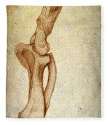 Mastodon Leg Bones Fleece Blanket