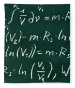 Mathematics Fleece Blanket