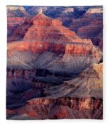 Mather Point Twilight Fleece Blanket
