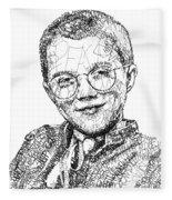 Mattie Stepanek Fleece Blanket