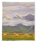 Matukituki Valley Fleece Blanket