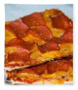 Matza Pizza Fleece Blanket