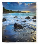 Maui Dawn Fleece Blanket