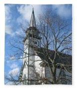 Mauricetown Church  Fleece Blanket