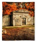 Mausoleum Fleece Blanket