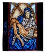 Mausoleum Window Fleece Blanket