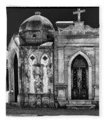 Mausoleums 2 Fleece Blanket