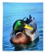 Maverick Mallard Fleece Blanket