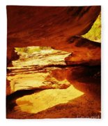 Maverick Natural Bridge Fleece Blanket