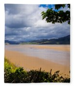 Mawddach Estuary Fleece Blanket