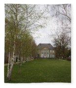 Max Liebermann House And Garden Wannsee Fleece Blanket