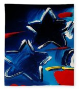 Max Two Stars Fleece Blanket