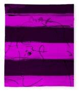 Max Woman In Purple Fleece Blanket