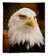 May Your Heart Soar Like An Eagle Fleece Blanket