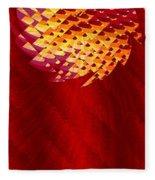 Mayan Sun Fleece Blanket