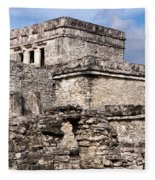 Mayan Tulum Fleece Blanket