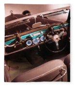 Maybach Car 4 Fleece Blanket