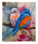 Maybe She's A Bluebird Fleece Blanket