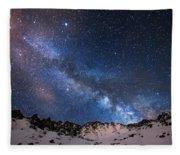 Mayflower Gulch Milky Way Fleece Blanket