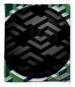 Mc Escher Fleece Blanket