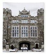 Mcbride Gateway - Bryn Mawr College Fleece Blanket