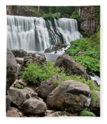 Mccloud Falls Fleece Blanket
