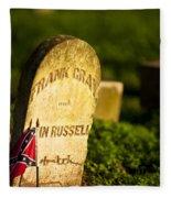 Mcgavock Confederate Cemetery Fleece Blanket