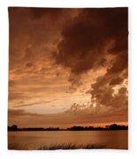 Mciver Lake Fleece Blanket