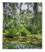 Mckee Botanical Gardens Fleece Blanket