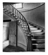 Meade Staircase Fleece Blanket