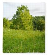 Meadow Blossoms Fleece Blanket