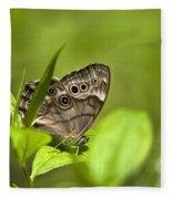 Meadow Butterfly Fleece Blanket