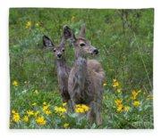 Meadow Meal Fleece Blanket