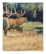 Meadow Music Fleece Blanket