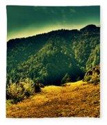 Meadows 2 Fleece Blanket