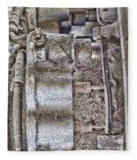 Mechanics Of Landing Gear Fleece Blanket