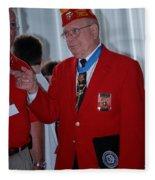 Medal Of Honor Recipient Fleece Blanket