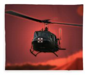 Medevac The Sound Of Hope Fleece Blanket