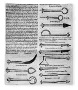 Medical Instruments, 1531 Fleece Blanket