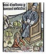 Medical Teaching, 1487 Fleece Blanket