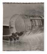 Medication 5 Fleece Blanket