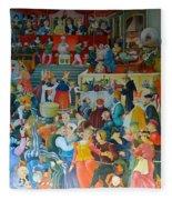 Medieval Banquet Fleece Blanket