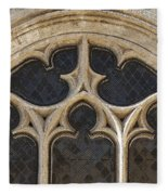 Medieval Church Window Ornaments Fleece Blanket